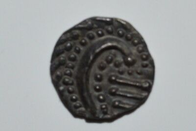 Rare and interesting Anglo Saxon silver sceat! C. 600-700 AD. Very high grade!