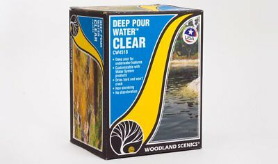 NEW Woodland Scenics CW4510 Deep Pour Water™ - Clear *SHIPS FREE*