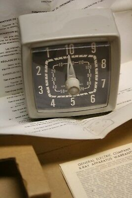 GE X-Ray Mechanical timer good working order with box & papers