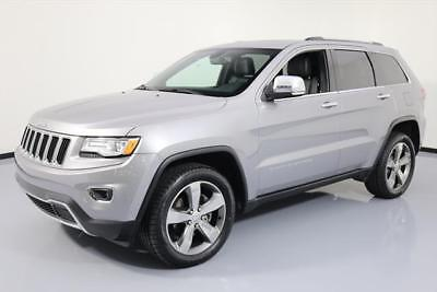 2015 Jeep Grand Cherokee Limited Sport Utility 4-Door 2015 JEEP GRAND CHEROKEE LTD 4X4 PANO ROOF NAV 20'S 42K #634125 Texas Direct