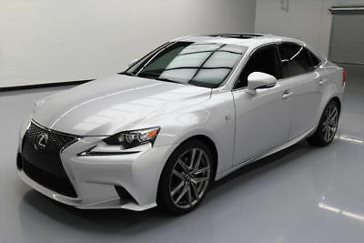 2015 Lexus IS  2015 LEXUS IS250 F-SPORT SUNROOF REAR CAM CLIMATE SEATS #069989 Texas Direct