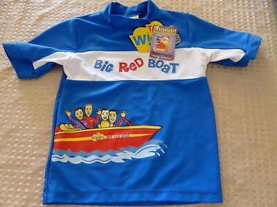 Wiggles Big  Red Boat Upf50+ Rash Vest Size 4 New With Tags
