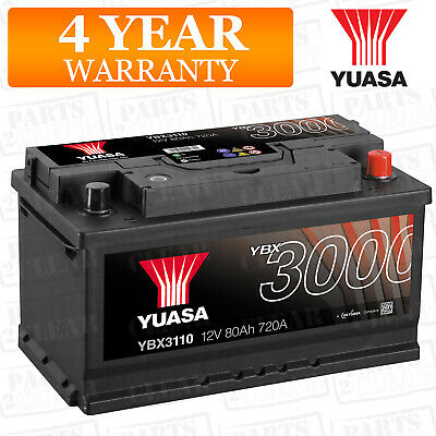 Yuasa Car Battery Calcium 12V 650CCA 75Ah T1 For Nissan Qashqai J10 1.5