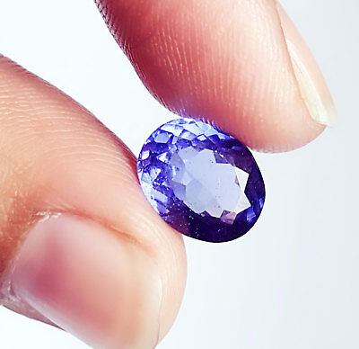 4.32 Ct Excellent GGL Certified Natural Oval Cut Tanzanite Gemstone