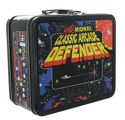 Midway Classic Arcade Tin Lunch Box, Defender