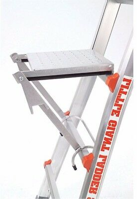 Multi Purpose Work Platform Ladder Accessory Step Tray Foldable Painting Silver