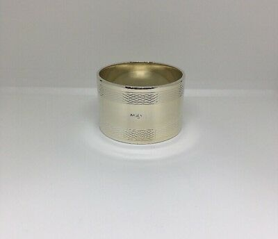 Francis Howard Silver Plated Napkin Ring with Celtic band design, Brand new
