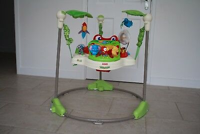 Fisher Price Jumperoo Rainforest Bouncer