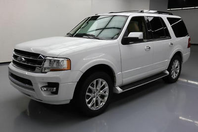 2016 Ford Expedition  2016 FORD EXPEDITION LTD ECOBOOST CLIMATE LEATHER 46K #F49483 Texas Direct Auto