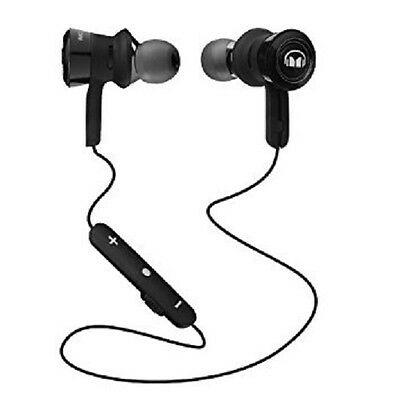 Monster Clarity HD Wireless In-Ear Bluetooth Headphone BLACK AND BLACK PLATINUM