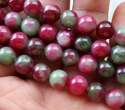 8mm colorful Kunzite Round Gemstones Loose Beads 15''