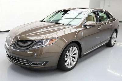 2016 Lincoln MKS Base Sedan 4-Door 2016 LINCOLN MKS PANO ROOF REAR CAM HTD LEATHER 38K MI #600466 Texas Direct Auto