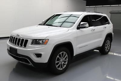2016 Jeep Grand Cherokee  2016 JEEP GRAND CHEROKEE LTD REAR CAM HTD LEATHER 44K #401611 Texas Direct Auto
