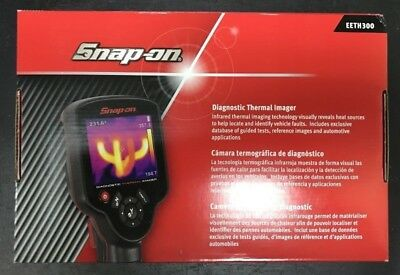 Snap-On Eeth300 Diagnostic Thermal Imager New In Box (Spg025330)
