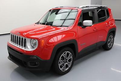 2015 Jeep Renegade Limited Sport Utility 4-Door 2015 JEEP RENEGADE LIMITED HTD LEATHER NAV REAR CAM 30K #B26994 Texas Direct