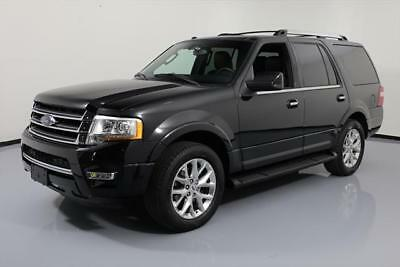 2017 Ford Expedition EL Limited Sport Utility 4-Door 2017 FORD EXPEDITION LIMITED ECOBOOST SUNROOF NAV 29K #A04251 Texas Direct Auto
