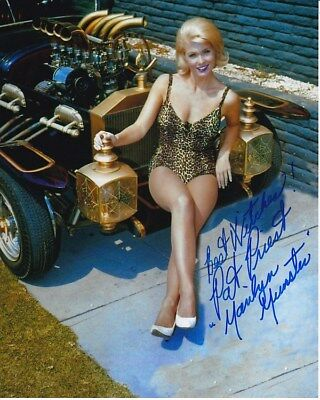 PAT PRIEST signed autographed THE MUNSTERS MARILYN photo