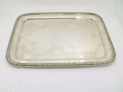 R. WALLACE Silver soldered Hotel Netherland Bread Tray