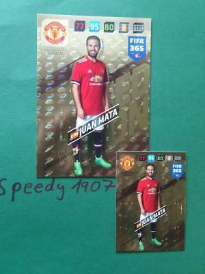 Panini Adrenalyn 2018 FIFA 365 Limited Edition XXL Manchester United Mata
