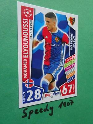Topps Champions League 2017 2018 limited Edition NORDIC SUPERSTAR Elyounoussi