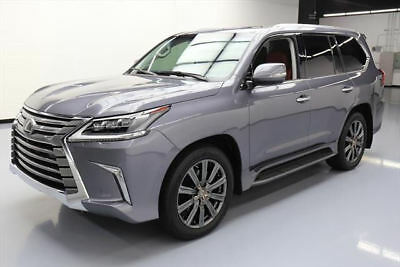 2017 Lexus LX  2017 LEXUS LX570 AWD LUX SUNROOF NAV DVD HUD 21'S 7K MI #236951 Texas Direct