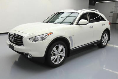 2014 Infiniti QX70 Base Sport Utility 4-Door 2014 INFINITI QX70 DELUXE TOURING SUNROOF NAV 20'S 51K #450208 Texas Direct Auto
