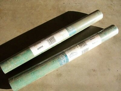 2 NEW ROLLS: VILLAGE VINYL WALLPAPER DOUBLE ROLL 20.5X11 YARDS 56.37sq.' #593935