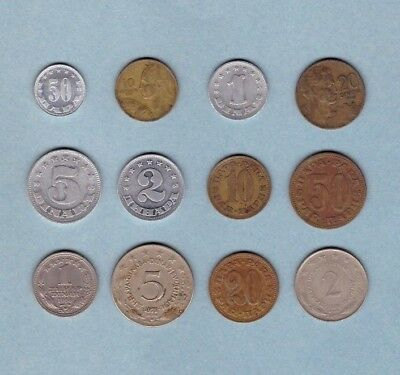 Yugoslavia Coin Collection - Lot # B - World/Foreign/Europe