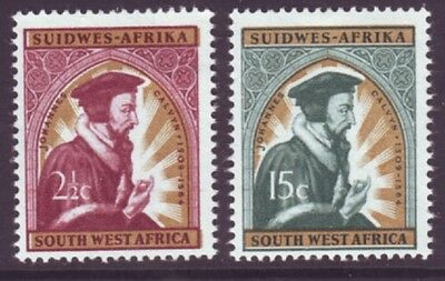 South West Africa 1964 SC 298-299 MH Set Christianity
