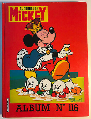 ALBUM LE JOURNAL DE MICKEY n°116 ¤ avec n°1724 à 1632 ¤ 1985 DISNEY