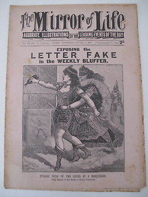 THE MIRROR OF LIFE Vol. VII-No. 159 JANUARY 13, 1897 BOXING SPORT MAGAZINE