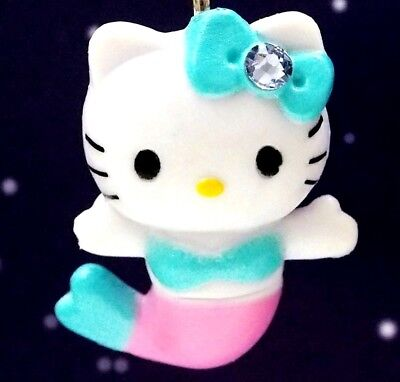 Hello Kitty X Cute Mermaid Baby Swarovski Elements Crystals Japan Pendant Charm