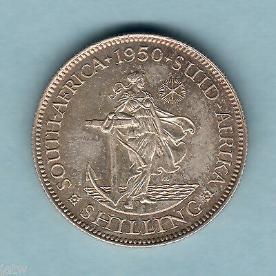 South Africa. 1950 Shilling.. Proof
