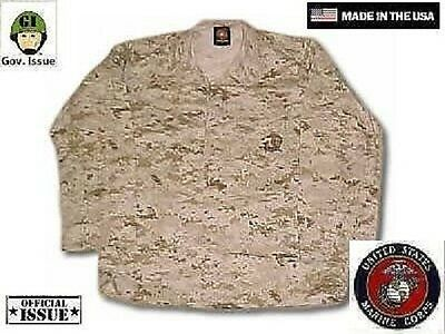 US Marine Corps USMC MARPAT Army Desert Digital Jacke coat Medium Regular