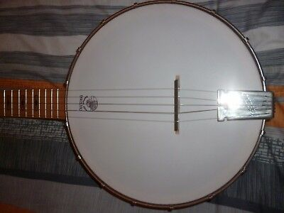 deering 5 string open back banjo made in the USA