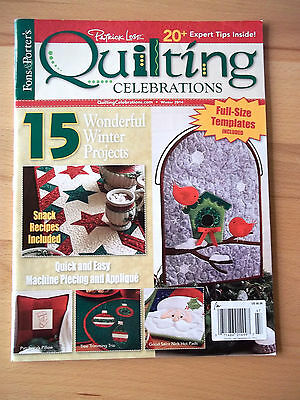 Quilting Celebrations Winter 2014