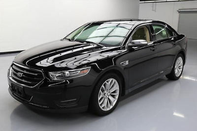 2016 Ford Taurus Limited Sedan 4-Door 2016 FORD TAURUS LIMITED VENT LEATHER NAV REAR CAM 13K #113794 Texas Direct Auto