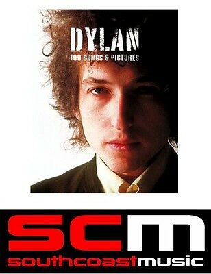 Dylan 100 Songs and Pictures Book Sheet Music +100 Rare Photographs of Bob Dylan