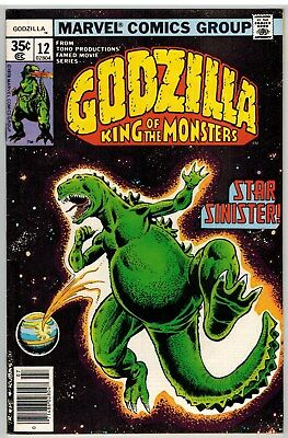 Godzilla King Of The Monsters #12 1978 Marvel Bronze Age!