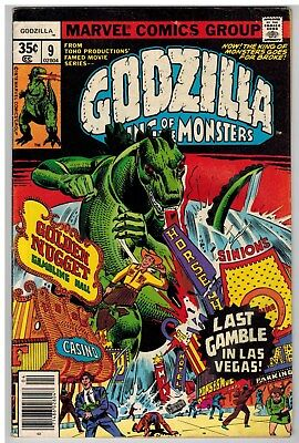 Godzilla King Of The Monsters #9 1978 Marvel Bronze Age!