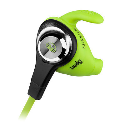 Monster iSport Intensity In-Ear Bluetooth Headphones Green