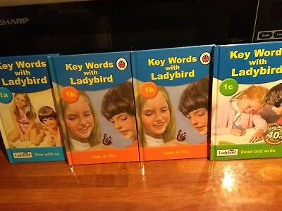 Ladybird Key Words Books 1a X2 of 1b and 1c Used