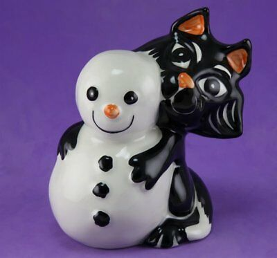 Lorna Bailey FROSTY THE CAT & SNOWMAN RESTRICTED PRODUCTION RANGE FOR NOV 2003.
