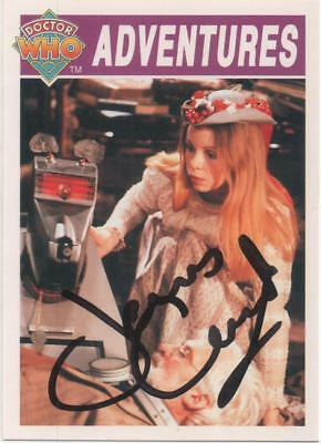 """Dr Who Cornerstone Card No.33 Auto by James Coombes """"Voice of the Krarg's"""""""