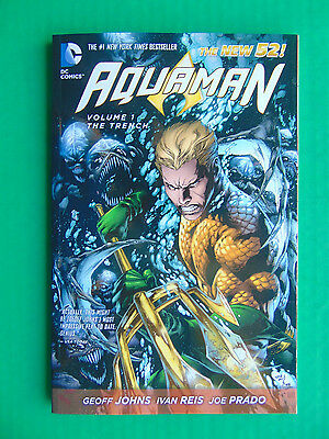 COMIC DC AQUAMAN THE TRENCH Vol. 1 Graphic Novel Paperback The New 52
