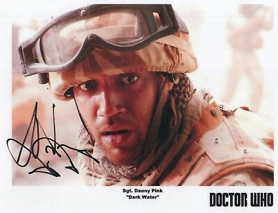 """Doctor Who Auto Photo Print Samuel Anderson """"Sgt. Danny Pink"""""""