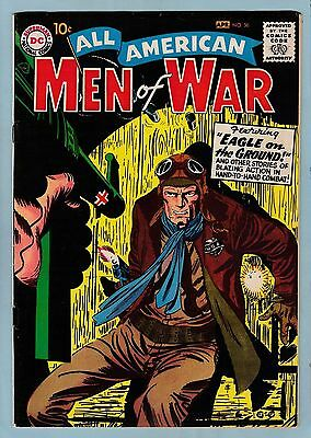 All American Men Of War # 56 Fn (6.0) 10 Cents Dc - Glossy- 1958 - 55% Off Guide