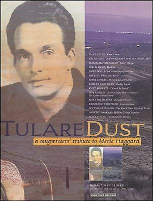 Tulare Dust A Songwriter's Tribute to Merle Haggard 1994 ad 8 x 11 advertisement