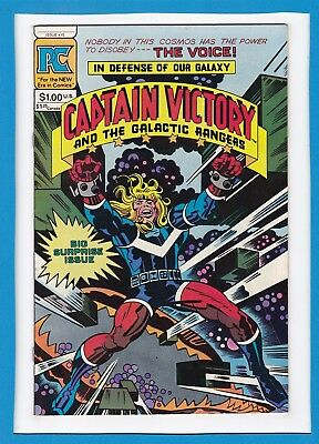 Captain Victory And The Galactic Rangers #10_April 1983_F/vf_Jack Kirby_Pc!