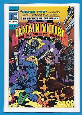 Captain Victory And The Galactic Rangers #12_October 1983_Vf+_Jack Kirby_Pc!
